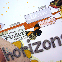 Horizon text
