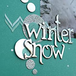 Winter Snow CU2